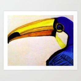Toucan Bird In Color Art Print
