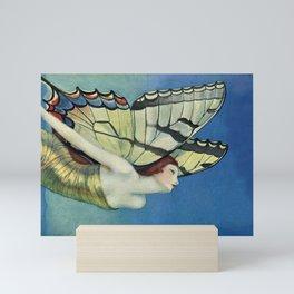 Butterflies Are Free Mini Art Print