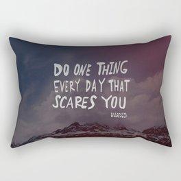 Scare Rectangular Pillow