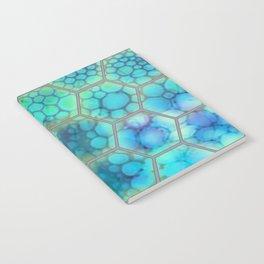 Onion cell hexagons Notebook