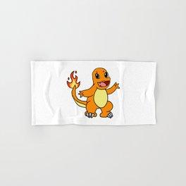 Baby Fire Character Hand & Bath Towel