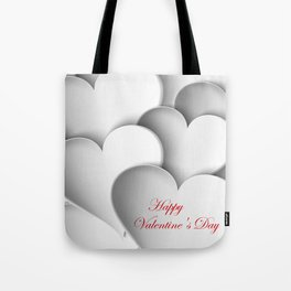 background paper hearts Tote Bag