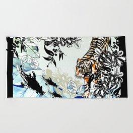Tiger Tiger Beach Towel