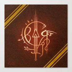 Sigil of Gryffindor Canvas Print