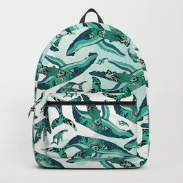 Coral Reef Humpback Whale Pattern Backpack