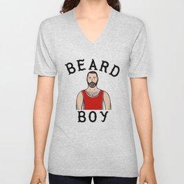 Beard Boy: Laurent Unisex V-Neck