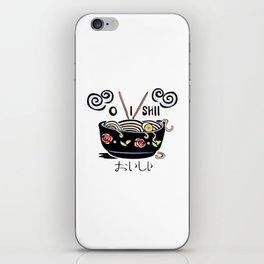 OISHII Noodle Bowl iPhone Skin
