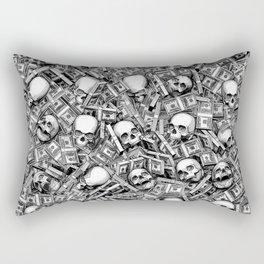 Root Of All Evil Rectangular Pillow