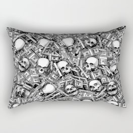 Root Of All Evil Rectangular Pillow