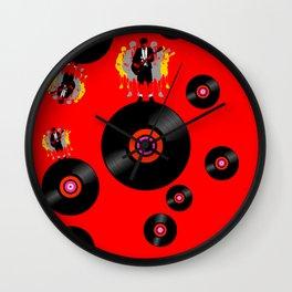 Rockstar on Vinyl Wall Clock