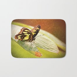 Butterfly - Ready for takeoff Bath Mat