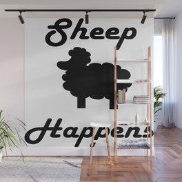 Sheep Happens Wall Mural