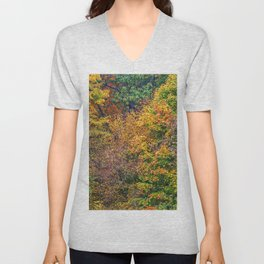 display of color Unisex V-Neck