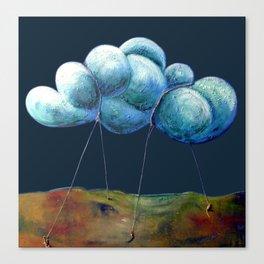 Cloud Tied Canvas Print