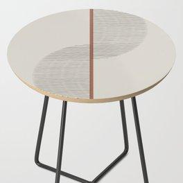 Geometric Composition II Side Table
