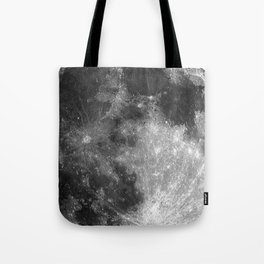 Black & White Moon Tote Bag