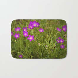 Fresh Spring Wildflowers by Reay of Light Photography Bath Mat