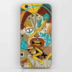 The drawing that accompanies the sound. iPhone & iPod Skin