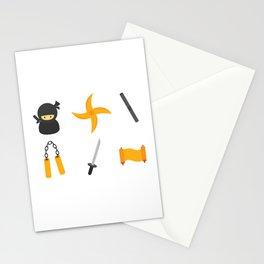 Leather Ninja Stationery Cards