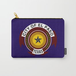 el paso city flag Carry-All Pouch