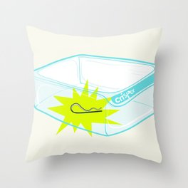 Cotter pin in the rotter bin! Throw Pillow