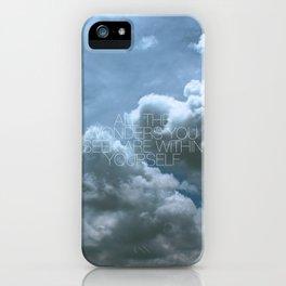Wonder Cloud iPhone Case