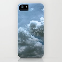 Wonder Cloud iPhone Case