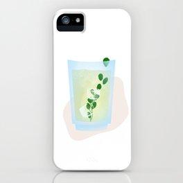 tropicool mojito iPhone Case