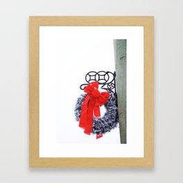 Christmas Wreath2 Framed Art Print