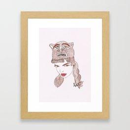 Animalia 1 Framed Art Print