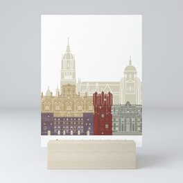 Salamanca skyline poster Mini Art Print