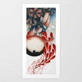 Suffocation Art Print