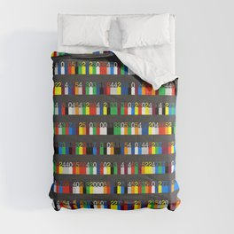 Color by Number: Pi Comforters