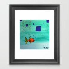 Old Skool I Framed Art Print