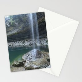 Waterfall in Austin, Texas Stationery Cards