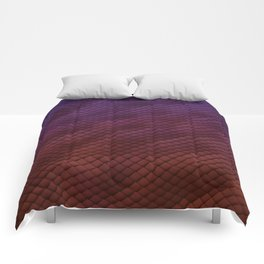 Dragon Scales Pattern Comforters