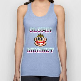 CLOWN MONKEY Unisex Tank Top