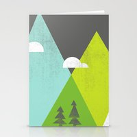 wander Stationery Cards featuring Wander  by Jenny Tiffany
