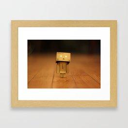 Danboarder Framed Art Print