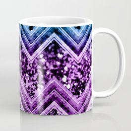 Unicorn Glitter Chevron #4 #shiny #decor #art #society6 Coffee Mug