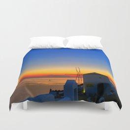 Santorini 17 Duvet Cover