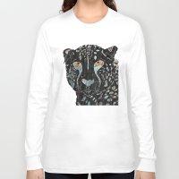 cheetah Long Sleeve T-shirts featuring Cheetah by  Steve Wade ( Swade)