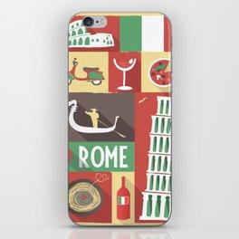 i love rome iPhone Skin