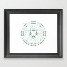 Anime Magic Circle 6 Framed Art Print