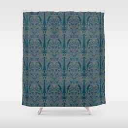 The Grand Salon, Teal Shower Curtain
