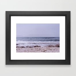 Oceans will rise Framed Art Print