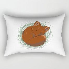 Little Fox - Cute Animals Rectangular Pillow