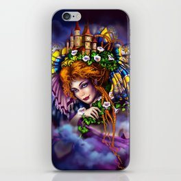 Fairy love and magic iPhone Skin