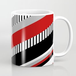 Four colors chevron design Coffee Mug