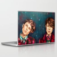 tegan and sara Laptop & iPad Skins featuring Tegan & Sara by Miriam R. Kent